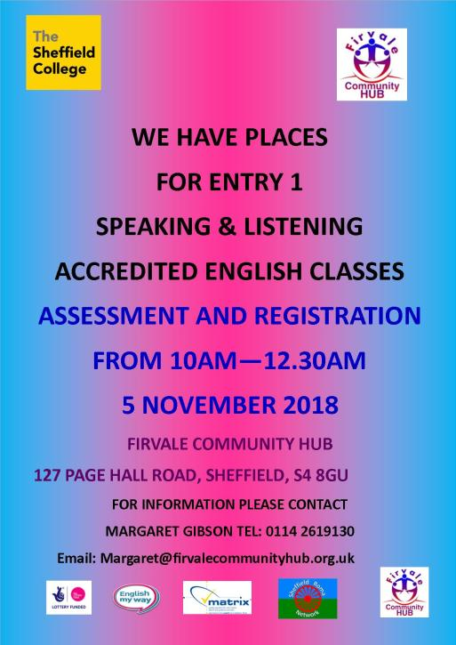 ENGLISH ASSESSMENT POSTER 13 OCT 2018