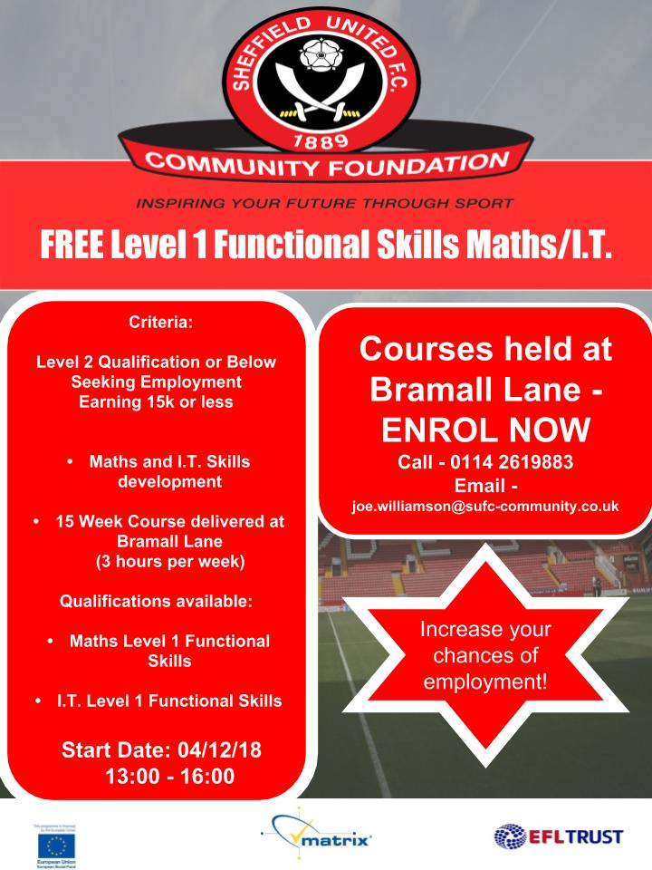 Sheffield United course